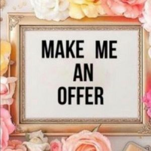 Accessories - Make Me An Offer!
